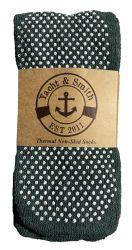 60 Units of Yacht & Smith Women's Thermal Non-Slip Tube Socks, Gripper Bottom Socks - Womens Slipper Sock