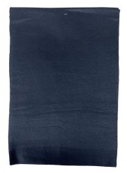 36 Units of Yacht & Smith Unisex Solid Black Warm Winter Fleece Scarves 60x12 - Winter Scarves