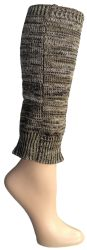 6 Units of 6 Pairs Of Womens Leg Warmers, Warm Winter Soft Acrylic Assorted Colors By Wsd (2tone Glitter) (one Size) - Womens Leg Warmers
