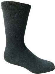 12 Units of Yacht & Smith Men's Thermal Crew Socks, Cold Weather Thick Boot Socks Size 10-13 - Mens Thermal Sock