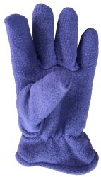 12 Units of Yacht & Smith Kids Warm Winter Colorful Fleece Gloves Assorted Colors - Kids Winter Gloves