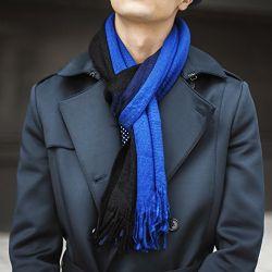 Yacht&smith 3 Pack Designer Winter Scarves, Stripe Patterned Neck Scarf, Unisex (option D) One Size - Winter Scarves