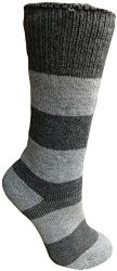 3 Units of Yacht&smith 3 Pairs Womens Brushed Socks, Warm Winter Thermal Crew Sock - Womens Thermal Socks