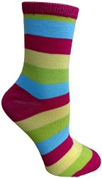 Yacht&smith 5 Pairs Of Womens Crew Socks, Fun Colorful Hip Patterned Everyday Sock (color Prints b) - Womens Crew Sock