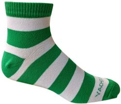 6 Units of 6 Pairs Of Mens Short Crew Socks, Lightweight Striped Sports Sock (wide Stripes) - Mens Ankle Sock