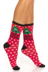 24 Units of Yacht & Smith Christmas Holiday Socks, Sock Size 9-11 - Womens Crew Sock
