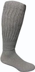 12 Units of Yacht & Smith Men's Cotton Extra Heavy Slouch Socks, Boot Sock - Mens Crew Socks