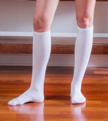 12 Units of Yacht & Smith Womens Knee High Socks, Solid White 90% Cotton Size 9-11 - Womens Knee Highs