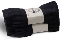 72 Units of Yacht & Smith Women's Cotton Sports Crew Socks Terry Cushioned, Size 9-11, Navy - Womens Crew Sock