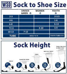 12 Units of Yacht & Smith Kids Premium Cotton Crew Socks White Size 6-8 - Boys Crew Sock
