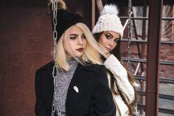 "Yacht & Smith Womens Pom Pom Beanie Hat, Winter Cable Knit Hat, Warm Cap, 3"" Poms Gray - Winter Beanie Hats"