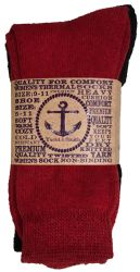 60 Units of Yacht & Smith Womens Wholesale Winter Thermal Crew Socks Size 9-11 - Womens Thermal Socks