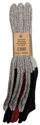 72 Units of Yacht & Smith Mens Cotton Thermal Tube Socks, Cold Weather Boot Sock Shoe Size 8-12 - Mens Thermal Sock