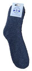 48 Units of Yacht & Smith Men's Warm Cozy Fuzzy Socks, Solid Colors Size 10-13 - Mens Crew Socks