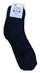 60 Units of Yacht & Smith Men's Warm Cozy Fuzzy Socks, Solid Colors Size 10-13 - Mens Crew Socks