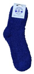 120 Units of Yacht & Smith Men's Warm Cozy Fuzzy Socks, Solid Colors Size 10-13 - Mens Crew Socks