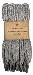 72 Units of Yacht & Smith Mens Terry Lined Merino Wool Thermal Boot Socks - Mens Thermal Sock