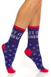 36 Units of Yacht & Smith Christmas Holiday Socks, Sock Size 9-11 - Womens Crew Sock