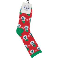 48 Units of Yacht & Smith Christmas Holiday Socks, Sock Size 9-11 - Womens Crew Sock