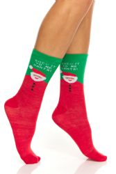 60 Units of Yacht & Smith Christmas Holiday Socks, Sock Size 9-11 - Womens Crew Sock