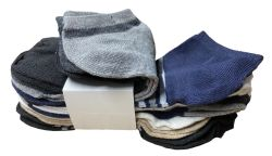 240 Units of Yacht & Smith Assorted Pack Of Boys Low Cut Printed Ankle Socks Bulk Buy - Boys Ankle Sock