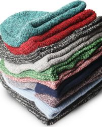 96 Units of Yacht & Smith Winter Hat Beanies For Adults, Mixed Colors And Styles Assortment, Unisex - Winter Beanie Hats