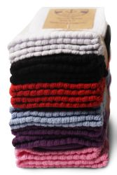 84 Units of Yacht & Smith Slouch Socks For Women, Assorted Colors Size 9-11 - Womens Scrunchie Sock - Womens Crew Sock