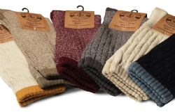 48 Units of Yacht & Smith Slouch Socks For Women, Assorted Colors Size 9-11 - Womens Crew Sock - Womens Crew Sock