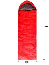 12 Units of Adults Sleeping Bag In Red Bulk Buy - Sleep Gear