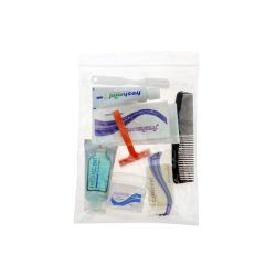 96 Units of Deluxe Hygiene & Toiletries Kit 9 Pc Set - First Aid and Hygiene Gear