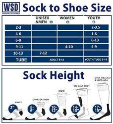 60 Units of Yacht & Smith Kids Premium Cotton Crew Socks Black Size 6-8 - Boys Crew Sock