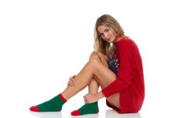 120 Units of Yacht & Smith Christmas Fuzzy Socks , Soft Warm Cozy Socks, Size 9-11 - Womens Fuzzy Socks
