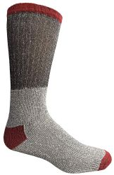 120 Units of Yacht & Smith Mens Cotton Thermal Tube Socks, Cold Weather Boot Sock Shoe Size 8-12 Bulk Buy - Men's Socks for Homeless and Charity