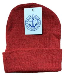 240 Units of Yacht & Smith Unisex Winter Knit Hat Assorted Colors BULK BUY - Bulk Hats for Homeless and Charity