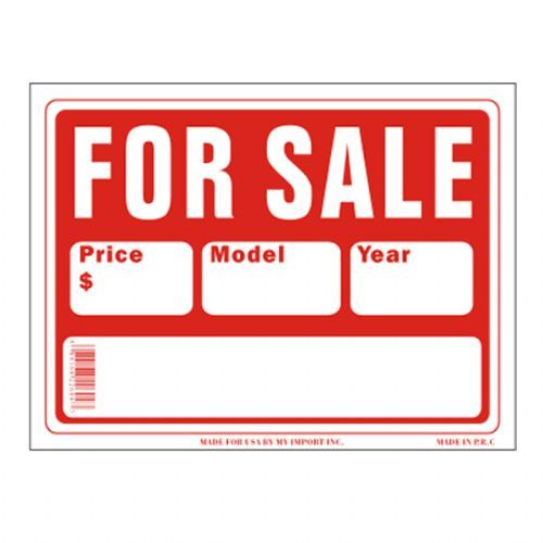 120 Units Of Sign 9in X 12in Car For Sale Signs Flags At