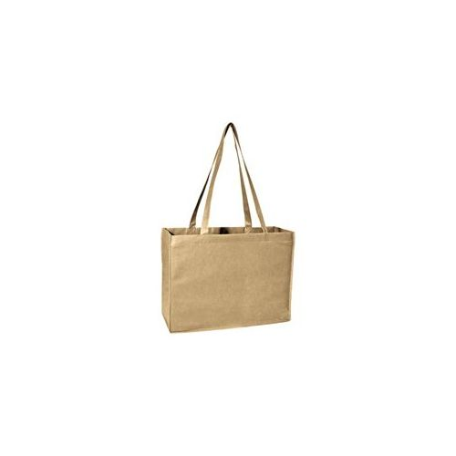 100 Units of Deluxe Tote Jr - Tan - Tote Bags & Slings