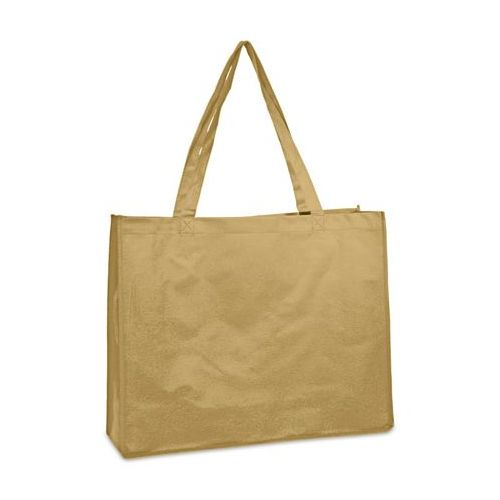 100 Units of Deluxe Tote - Tan
