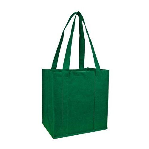 100 Units of Reusable Shopping Bag-Green - Tote Bags & Slings