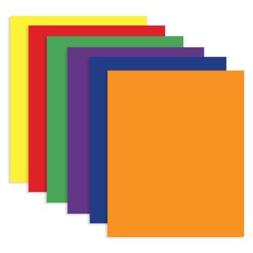 100 Units of BAZIC Asst. Color 2-Pockets Portfolios - FOLDERS/REPORT COVERS