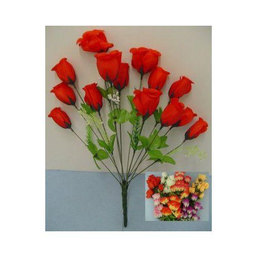 100 Units of 14 Head Silk Flower-Rosebuds