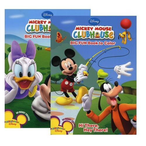 - 48 Units Of Mickey Mouse Clubhouse Coloring Book - Coloring & Activity Books  - At - Alltimetrading.com