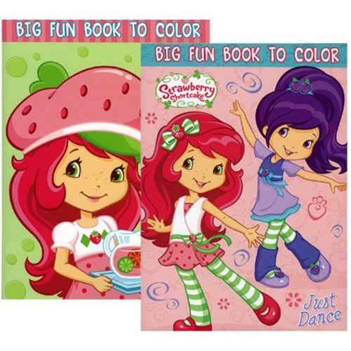 - 48 Units Of Strawberry Shortcake Coloring Book - Coloring & Activity Books  - At - Alltimetrading.com
