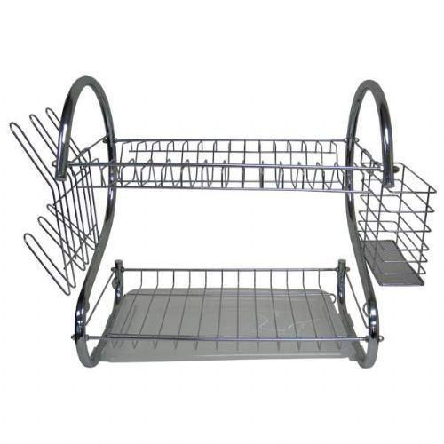 10 Units of Stainless Steel Dish Rack - Kitchen > Accessories