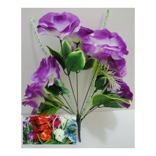 100 Units of 9 Head Silk Flower - Artificial Flowers