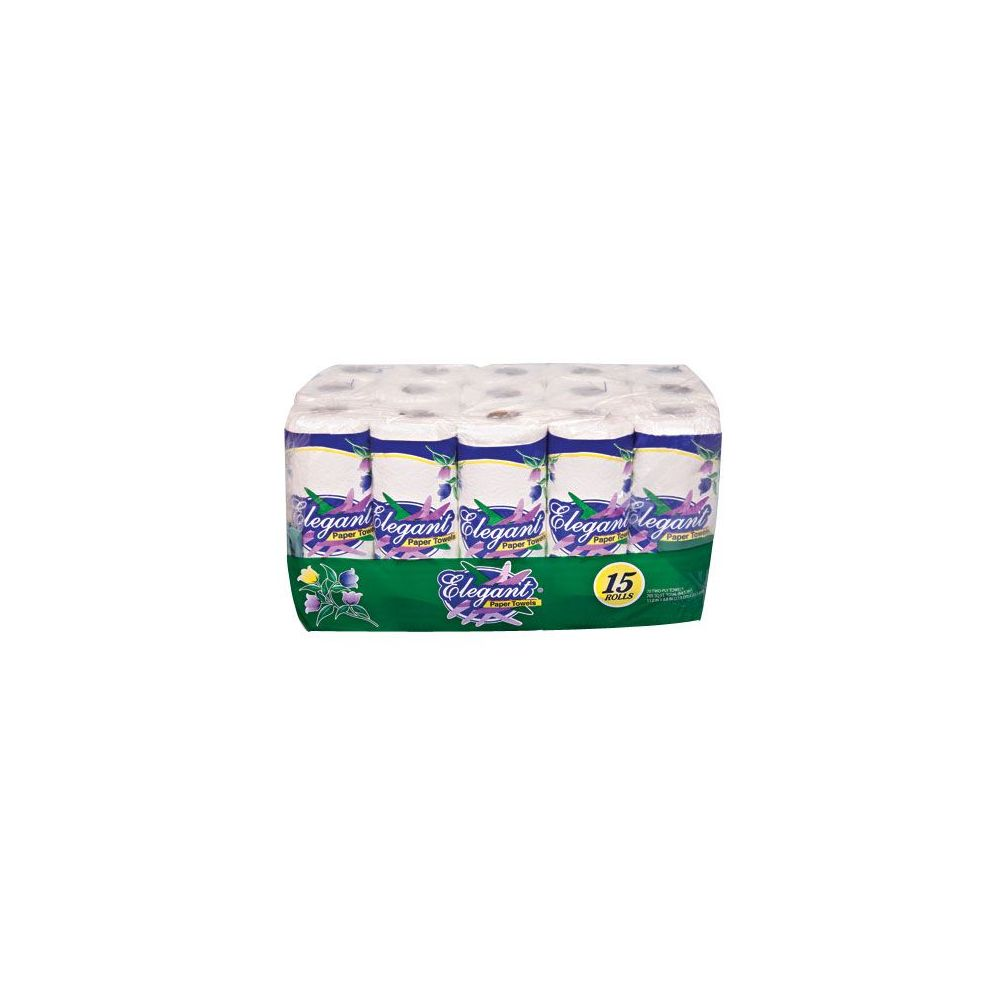 40 Units of 2 Ply Paper Towels 15 Pack - Pallet Paper Goods