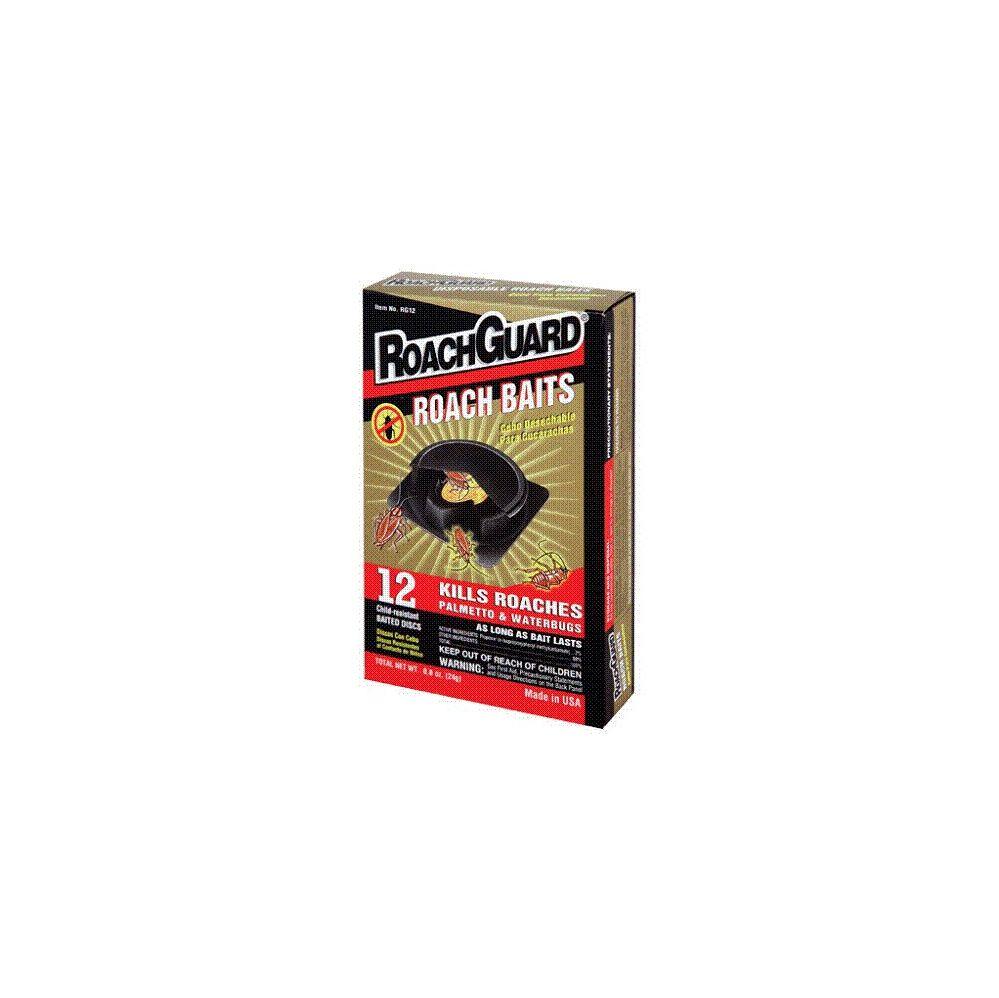 12 Units of Roach Baits 12 Pack Discs