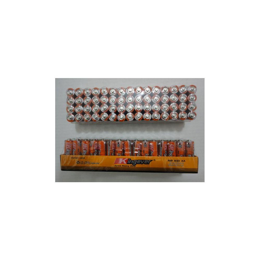 10 Units of 60pk AA Batteries-Kingever - BATTERIES