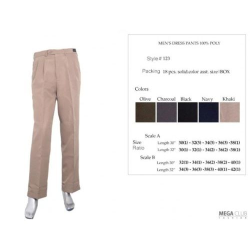 18 Units of Mens Dress Pants Size 32-42