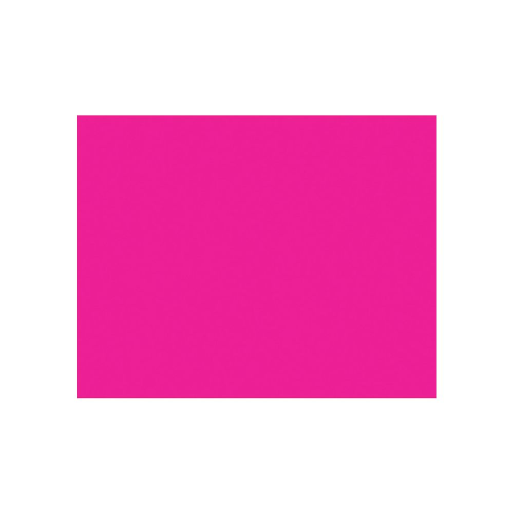 """100 Units of BAZIC 22"""" X 28"""" Fluorescent Pink Poster Board - PAPER"""