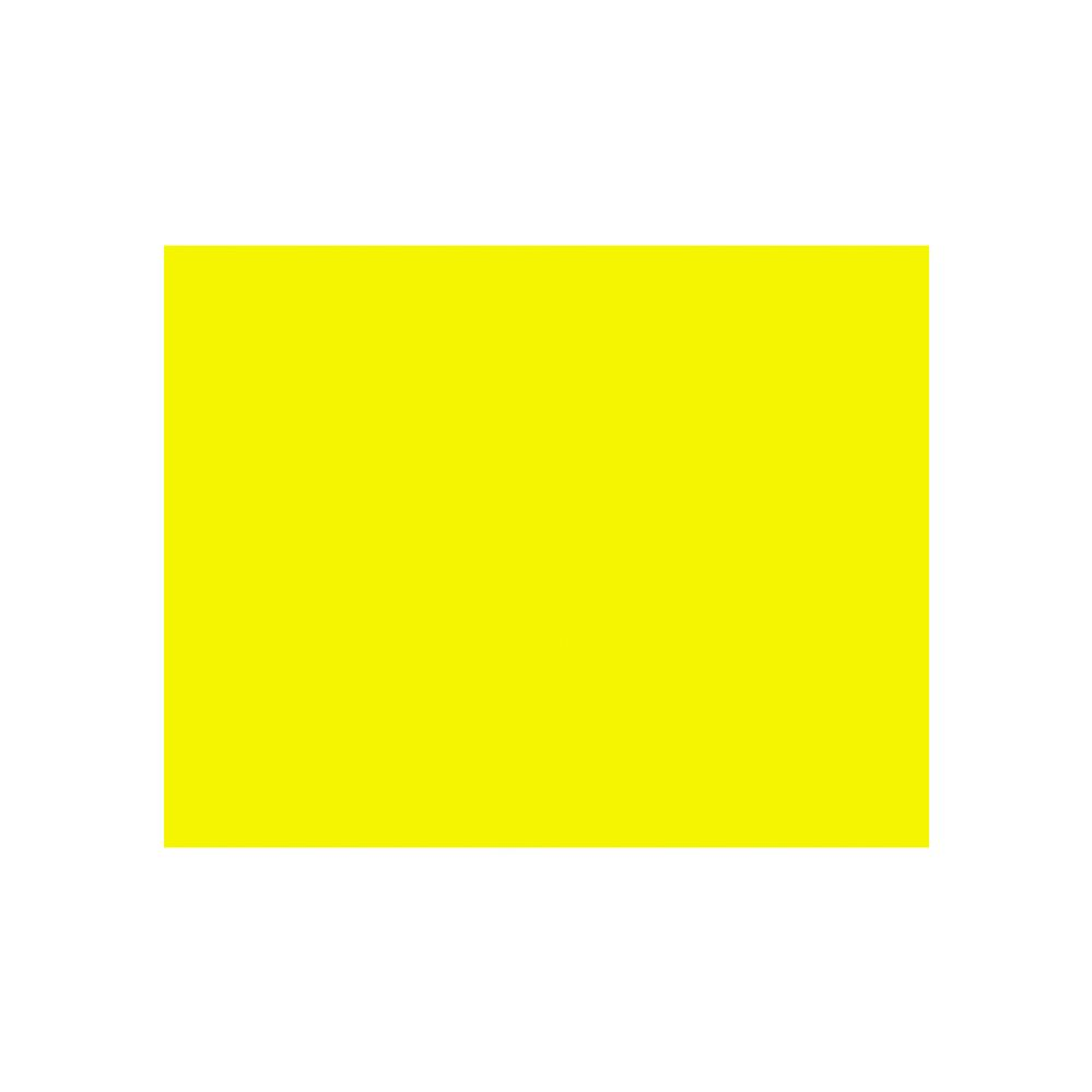 "100 Units of BAZIC 22"" X 28"" Fluorescent Yellow Poster Board - PAPER"